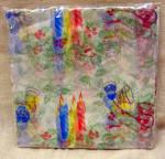 Printed Soft Paper Vintage Christmas Napkins