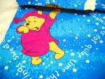 Vintage Winnie The Pooh Twin Size Flat Sheet