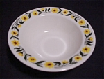 Homer Laughlin Yellow Daisy Small Bowl