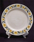 Homer Laughlin Yellow Daisy Dinner Plate