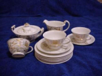 Lot Of 13 Japan Dishes