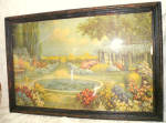 Vintage R Atkinson Fox Art Deco Garden Print Nature's Beauty