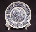 Alfred Meakin Fair Winds Blue Salad Dish
