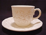 Metlox Cup And Saucer Antique Grape