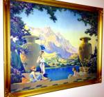 Vintage C K Van Nortwick Framed Print The Magic Of Dawn Art Deco
