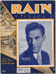 Rain - Norm Ruvell 1934 Sheet Music