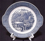 Royal Currier&ives Rocky Mountains Cake Plate