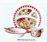 Dalmation Baby Dish 5 Pc. Set