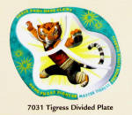 Master Tigress Divided Plate