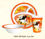 Kung Fu Panda 3pc Child Set