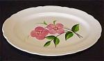 Vintage Stetson Heritage Pink Flower Platter