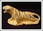American Bisque Tiger Planter