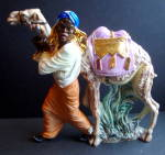 Wiseman, Camel Nativity Figure