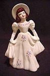 Florence Ceramics Figurine/flower Holder Kay