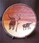Soapstone Plate Handcrafted In Kenya
