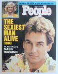 People Magazine January 27, 1986 Mark Harmon