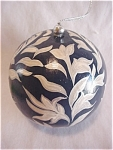 Paper Mache Ball Ornament