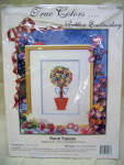 True Colors Floral Topiary Ribbon Embroidery Kit