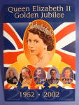 Tin Sign Queen Elizabeth Ii Golden Jubilee Geaneology