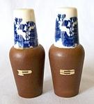 Vintage Japan Delft-like Salt &pepper Shakers