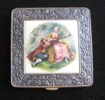 Vintage Art Deco Era Powder Compact