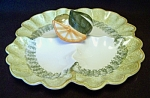Los Angeles Potteries Fruit Relish Tray #77