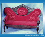 Victorian Couch Dollhouse Miniature