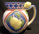 Clay Art Mosaic Lemon 2 1/2 Qt. Pitcher
