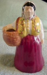 Brayton Laguna Peasant Woman Figurine/planter