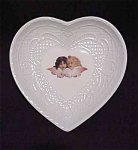Vintage Vandor Heart Pin Dish