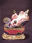 Avon Santa Claus Hinged Trinket Box