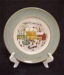 Avon 8th Edition 1980 Country Christmas Plate