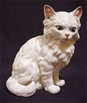 Lefton Large White Cat Figurine #m1514