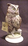 Lefton Porcelain Bisque Owl Figurine