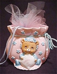 Lefton Potpourri Teddy Bear Jar