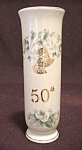 Lefton 50th Anniversary Vase #1102