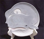 Henriksen Imports Whale Plate