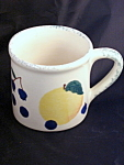 Hartstone Fruit Salad Cherry Blueberry Plum Pear Mug Cup
