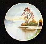 Occupied Japan Ucagco Miniature Hanging Plate