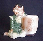 Royal Copley Oriental Girl Planter