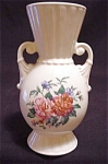 Royal Copley Two-handled Decal Vase