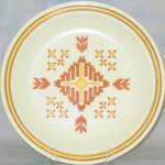 Homer Laughlin Southwestern Design Dinner Plate