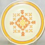 Homer Laughlin Ironstone Southwestern Design Bread Plate