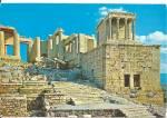 Athens, Greece The Propylaea Of The Acropolis
