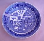 Ridgways England Blue Willow Berry Sauce Bowl.