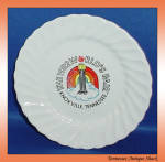 Knoxville 1982 World's Fair Plate