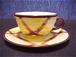 Vernonware Organdie Cup And Saucer