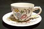 Vernon Kilns May Flower Cup And Saucer