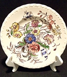 Vintage Vernon Kilns May Flower Salad Plate