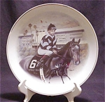 Bill Shoemaker Limited Edition Plate